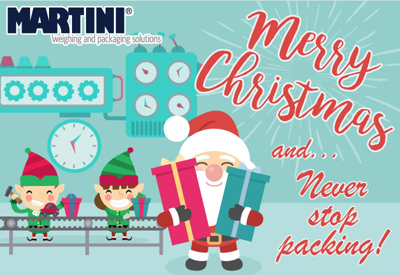 Merry Christmas and... Never stop packing!